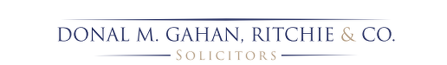 Donal M. Gahan Ritchie & Co. Solicitors